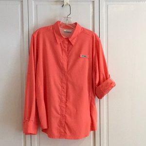 Salmon fishing shirt - Columbia